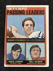 1971 Topps #4  NFC Passing Leaders - Staubach / Landry / Kilmer