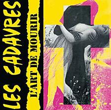 LES CADAVRES L'ART DE MOURIR DIRTY PUNK RECORDS PINK LP VINYLE ROSE NEUF NEW