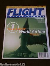FLIGHT INTERNATIONAL # 4617 - WORLD AIRLINE DIRECTORY Pt 1 - MARCH 18 1998