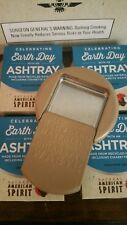 100 Recycled American Spirit Earth Day Portable Pocket Cigarettes Ashtray LOT