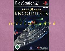 Ps2 _ STAR TREK paranormali _ DVD in top-stato _ 1000 ulteriori giochi nel negozio