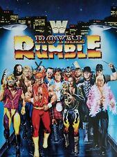 WWE WWF ROYAL RUMBLE 1991 CARDBOARD POSTER (NEW)