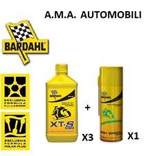 BARDAHL KIT MANUTENZIONE 3L XTS C60 5W 40 + GRASSO CATENA MOTO STRADALI