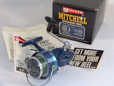 Vintage Mitchell Garcia 410A Fishing Spinning Reel With Box And Paper Work