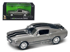 1967 SHELBY MUSTANG GT 500E GREY 1/43 DIECAST MODEL CAR BY ROAD SIGNATURE 43202