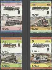 Timbres Trains Tuvalu 259/66 ** lot 8305