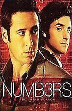 NUMBERS COMPLETE SERIES 3 DVD Box Set Season New NUMB3RS 3rd Third UK R2