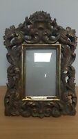 ~ Lovely Vintage Heavy Antique Style Ornate Gold Photo / Picture Frame ~