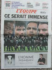 L'Equipe du 6/10/2007 - Nanct - l'escrime française - Aveu de Marion Jones