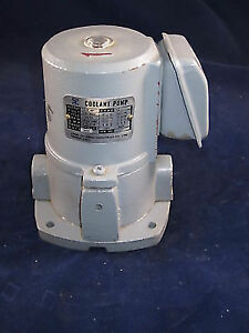 FLAIR MC-8000 Suction Type Coolant Pump 1/8HP 230/460V 3 Phase