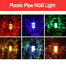Solar Power LED Waterproof RGB Landscape Ligths Outdoor Garden Pathway Lawn Lamp