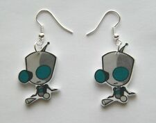 New Invader Invaders Zim, Gir without dog suit Earrings
