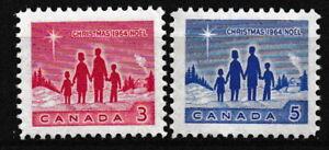 Kanada - Weihnachten Satz postfrisch 1964 Mi. 379-380