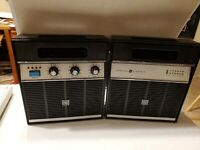 General Electric 8-Track Stereo with Three Way Power Untested Vintage