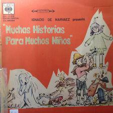 Historias para muchos Ninos - Ignacio de Narvaez -Span. Kinderlieder-Vinyl LP F7