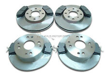 for HONDA ACCORD 1.8 & 2.0 1998-2002 FRONT 2 & REAR 2 BRAKE DISCS AND PADS SET