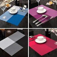 1Pcs PVC Placemat Insulation Dining Table Bowl Mat Waterproof Mats Kitchen Tools