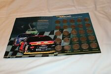 NASCAR  Limited Edition SILVER COIN COLLECTION  SET by Got-Um with album