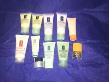NEW LOT OF CLINIQUE SKIN CARE PRODUCTS,  HAPPY MINI PERFUME & MORE - TRAVEL SIZE