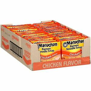 ramen noodles Chicken 30 Oz Pack of 24 collage favorite and great care package