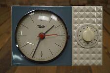 DIEHL electro Wanduhr 50er Küchenuhr Vintage Rockabilly Design 50s Uhr Wecker