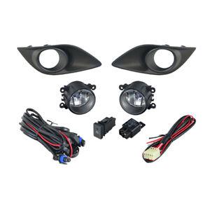 Fog Light Kit for Suzuki Swift FZ Non Sport 2011-2017 W/Wiring&Switch