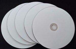 5 x White Blank DVD-R 16X 4.7 Gb Inkjet printable surface Discs by Shintaro