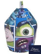Disney Monsters Inc Uni Childrens Kids Bean bag Beanbag Seat, Filled