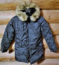 Alpha Industries MIlitary Cold Weather Jacket Parka N-3B men's L