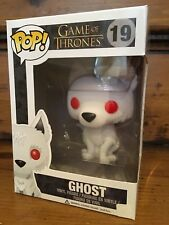 FUNKO POP! Game Of Thrones FLOCKED GHOST #19 SDCC 2014 Vinyl Figure NEW Retired