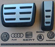 Audi rs6 4f original pedalset pedales pedal tapas pedal cover pads c6 a6 s6 Caps