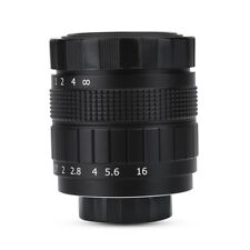 Fujian 35mm f/1.7 CCTV Lens Fixed Focal Lenses for C Mount Canon Sony Camera GW
