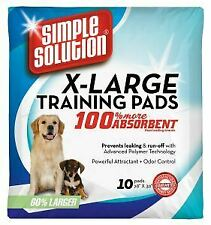 Simple Solution Puppy Training Pads XLarge (10Pk) - 389951