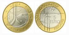 Ice Hockey World Championships Finland 2003 5 Euro Coin UNC