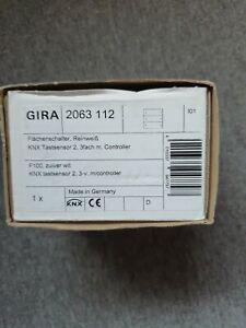 Gira 2063 112 3 fach Tastsensor 2 Flächenschalter mit Controller KNX