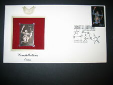 Constellations Orion 2005 22kt Gold GOLDEN Replica Cover STAMP