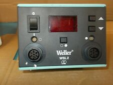 NEW Weller WSL2 Dual Digital Soldering Station 120V 50/60HZ