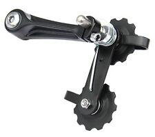 MTB Road Bike Bicycle Aluminum Chain Tensioner Black