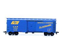 Spur H0 Modellgüterwagen in Blau