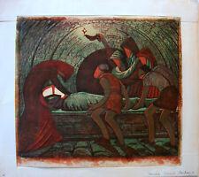 """Sybil Andrews (1898-1992) """"TENEBRAE"""""""