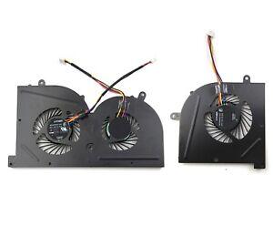 Genuine New MSI GS63 GS63VR GS73 GS73VR CPU + GPU Cooling FAN