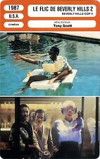 Fiche Cinéma Movie Card Le flic de Beverly Hills 2/Beverly Hills cop II USA 1987