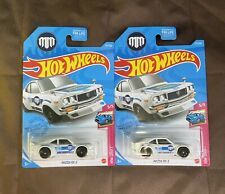 Hot Wheels Mazda RX3 137/250 1/64 2021 F SUPER TREASURE HUNT AND REGULAR 🔥VHTF