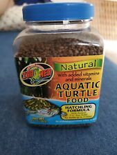 Zoo Med Natural Aquatic Turtle Food Hatchling Formula 7.5 Ounce best prices on ebay