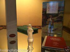 "Swarovski Julia's World Christmas Limited Edition ""Mandolin"" Mint in Box w/ Book"