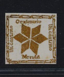 ***REPLICA*** of Venezuela 1881 Merida - gold star - local town post