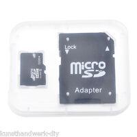 16GB Micro SD TF SDHC Speicher Memory Karte Card Speicherkarte Adpater ILC