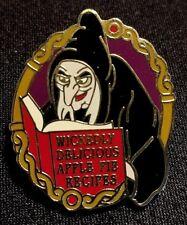 Rare 2007 Disneyland Where Evil Spells Are Broken Series Snow White Old Hag Pin