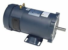 "1/4 HP 1800RPM 56C 12V DC 5/8"" SHAFT TENV LEESON ELECTRIC MOTOR #108045"