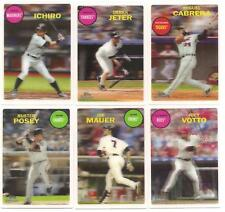 Lot of 25 2011 Topps Lineage 3D set of 25